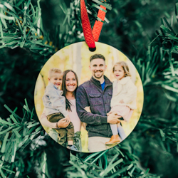 Personalized Photo Christmas Ornament photo ornament, personalized photo ornament, photo christmas ornament