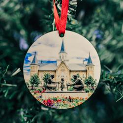 Provo City Center Photo Temple Ornament provo city center temple ornament, temple ornaments, temple ornament, lds ornaments