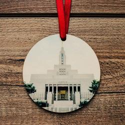 Draper Photo Temple Ornament draper temple ornament, temple ornaments, temple ornament, lds ornaments