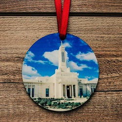 Indiana Photo Temple Ornament indiana city center temple ornament, temple ornaments, temple ornament, lds ornaments