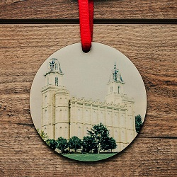 Manti Photo Temple Ornament manti temple ornament, temple ornaments, temple ornament, lds ornaments