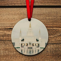 Oakland Photo Temple Ornament oakland temple ornament, temple ornaments, temple ornament, lds ornaments