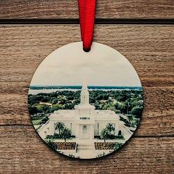 Orlando Photo Temple Ornament orlando temple ornament, temple ornaments, temple ornament, lds ornaments