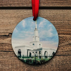 Sacramento Photo Temple Ornament sacramento temple ornament, temple ornaments, temple ornament, lds ornaments