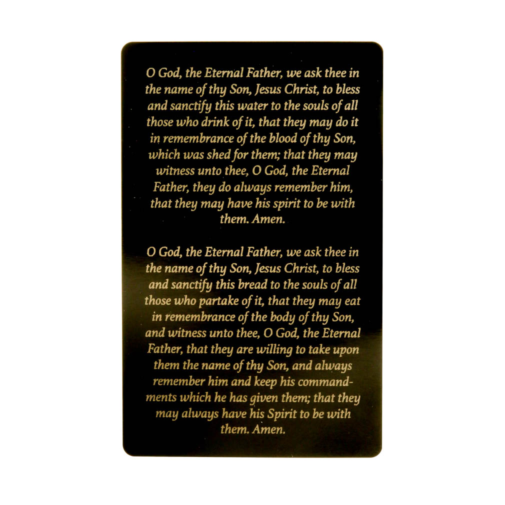 Priesthood Line of Authority Pocket Card - LDP-PKC327