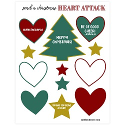 Christmas Heart Attack Kit - Printable - LDPD-PBL-ACT-CHRHEART