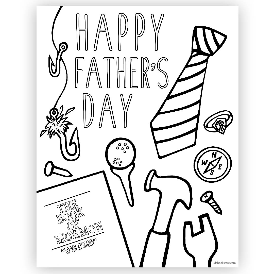 photo relating to Father's Day Printable named Joyful Fathers Working day Coloring Site - Printable