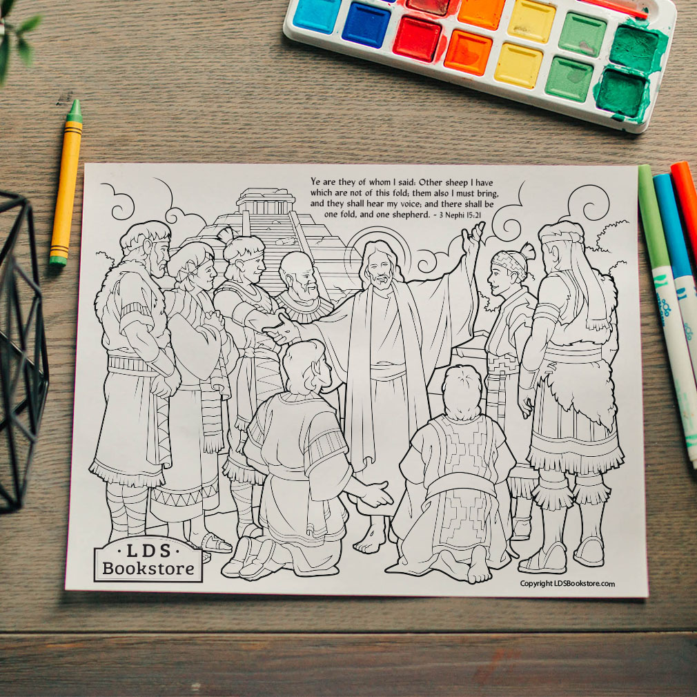 Other Sheep I Have Coloring Page - Printable  - LDPD-PBL-COLOR-3NEPHI15