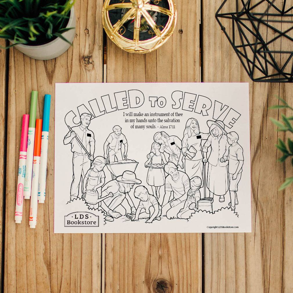 I Will Make an Instrument of Thee Coloring Page - Printable - LDPD-PBL-COLOR-ALMA17