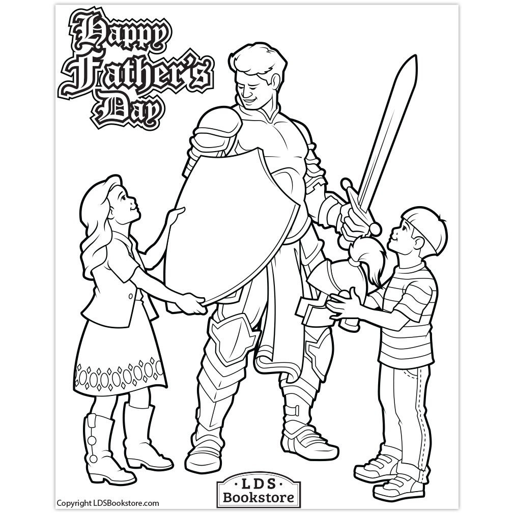 Armor of God Coloring Page - Flanders Family Homelife   1010x1010