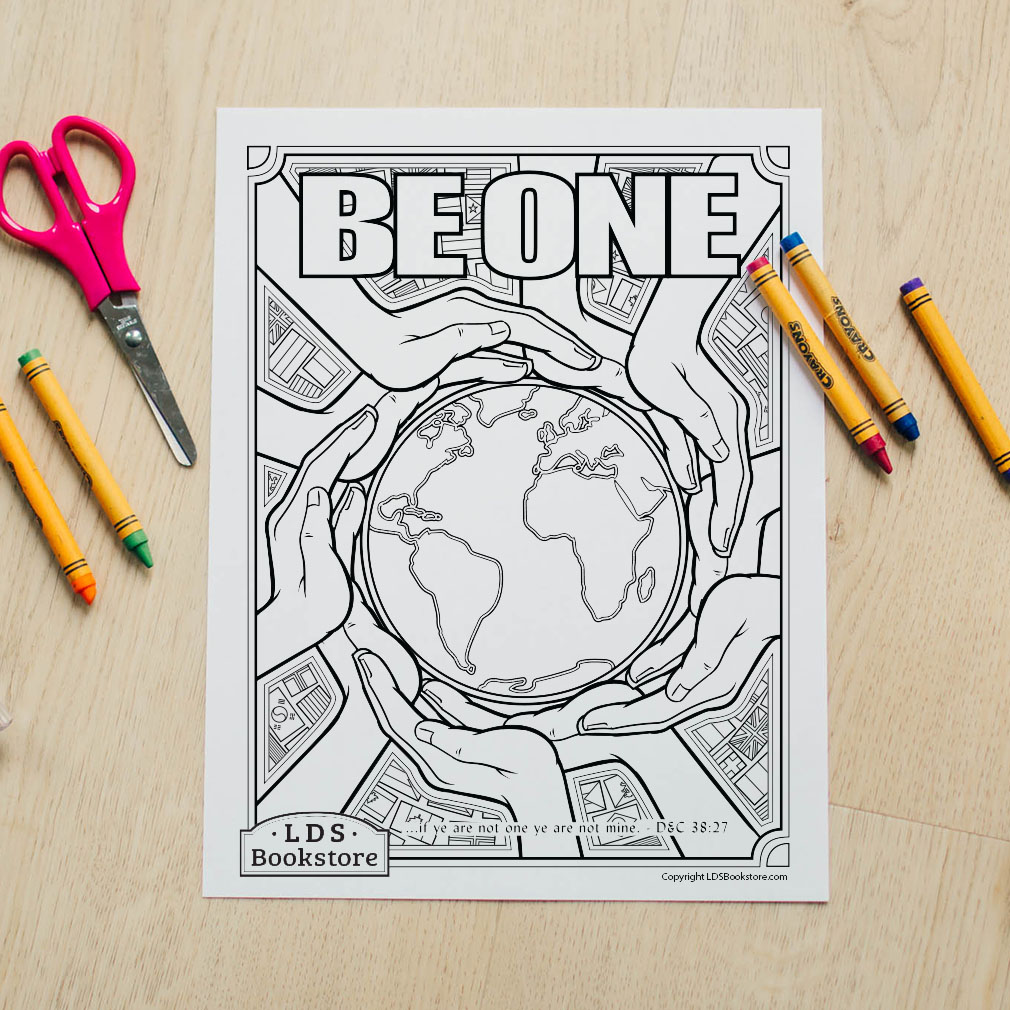 Be One Coloring Page - Printable - LDPD-PBL-COLOR-DOCTCOV38