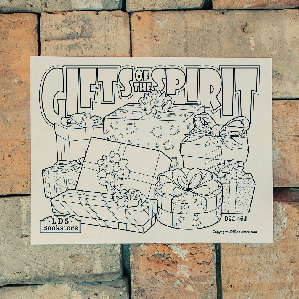 Gifts of the Spirit Coloring Page - Printable - LDPD-PBL-COLOR-DOCTCOV46