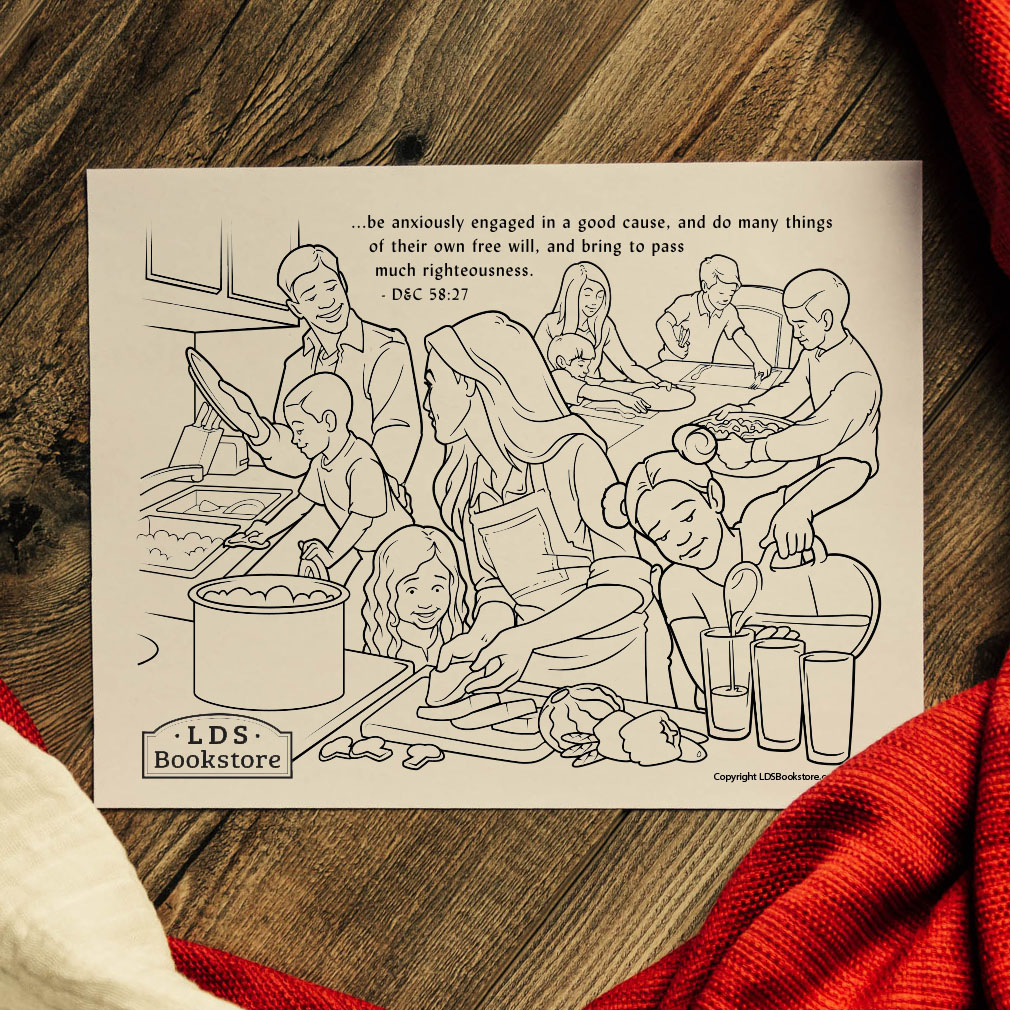 Anxiously Engaged in a Good Cause Coloring Page - Printable - LDPD-PBL-COLOR-DOCTCOV58