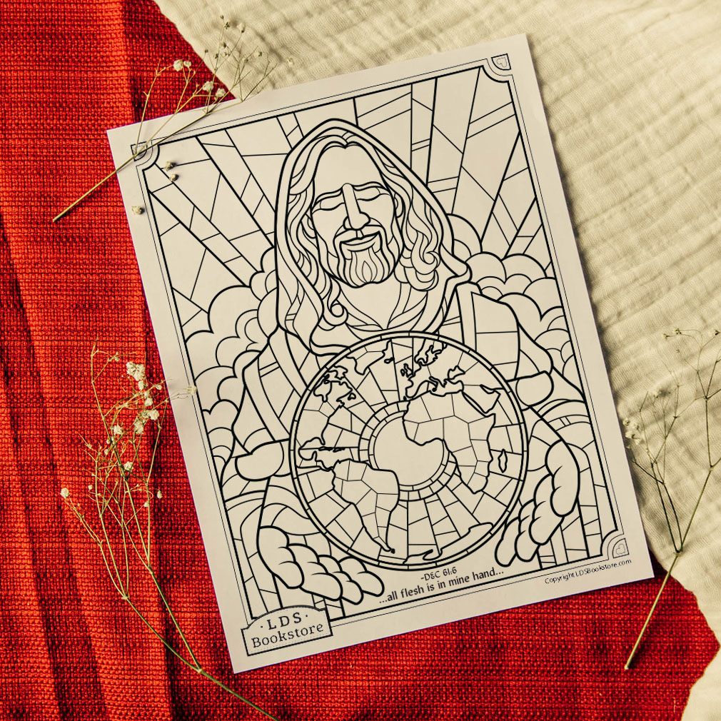 All Flesh Is In Mine Hand Coloring Page - Printable - LDPD-PBL-COLOR-DOCTCOV61