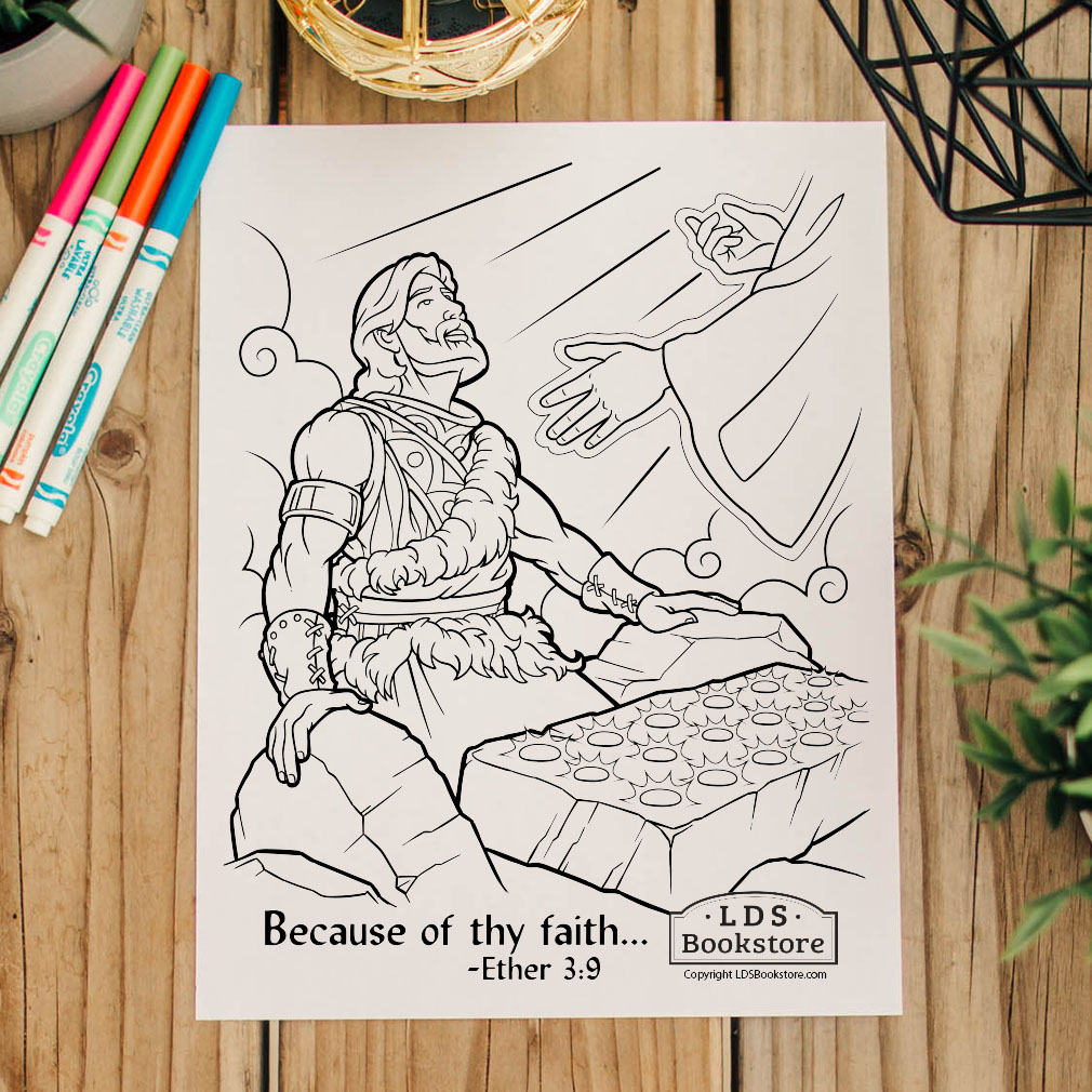Because of Thy Faith Brother of Jared Coloring Page - Printable - LDPD-PBL-COLOR-ETHER3