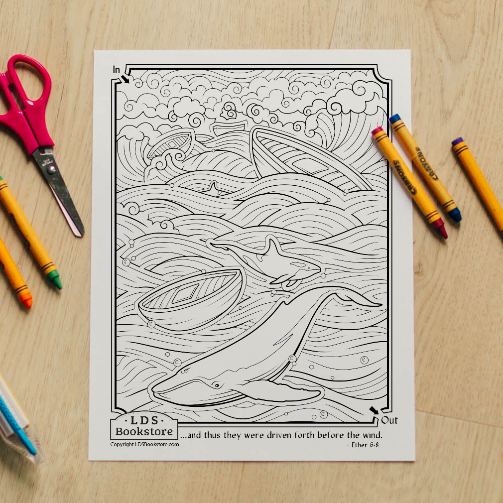 Driven Towards the Promised Land Coloring Page - Printable - LDPD-PBL-COLOR-ETHER6