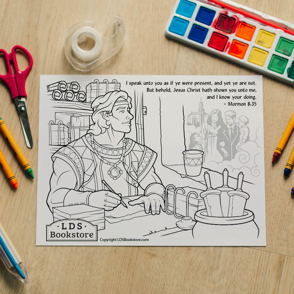 I Speak Unto You Coloring Page - Printable  - LDPD-PBL-COLOR-MORMON8