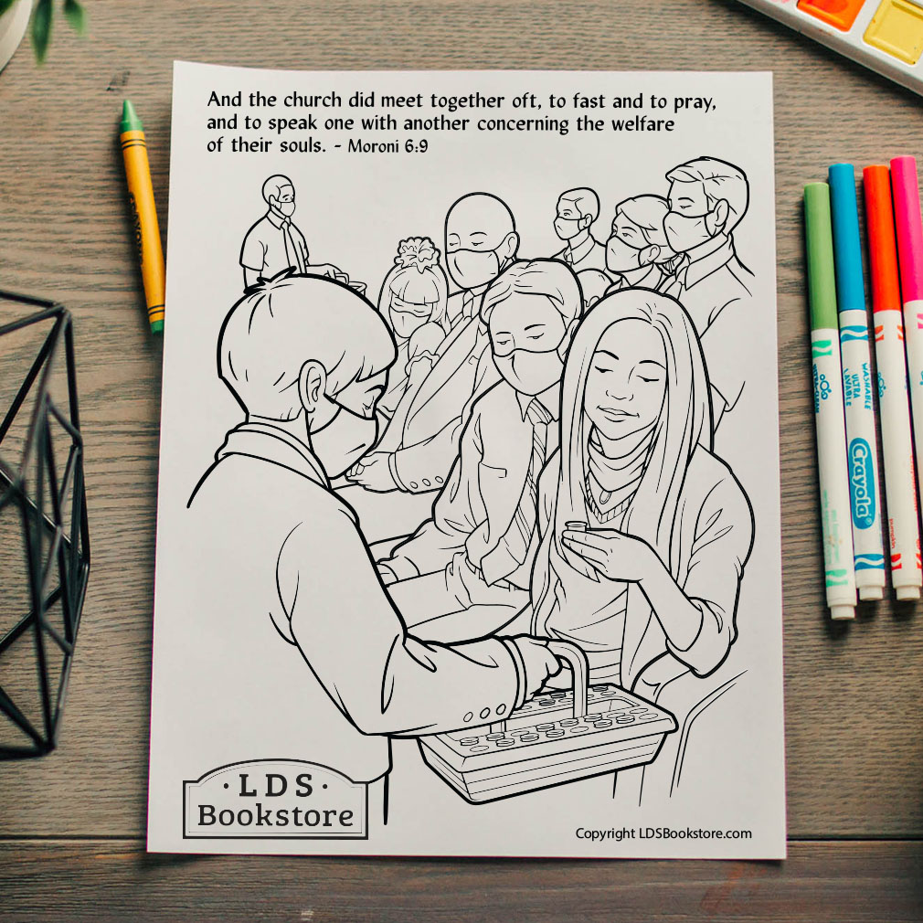 Meet Together Oft Coloring Page - Printable - LDPD-PBL-COLOR-MORONI6