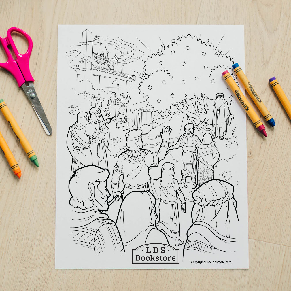 Tree of Life Coloring Page - Printable - LDPD-PBL-COLOR-TREEOFLIFE