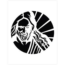 Christus Profile Pumpkin Carving Template - Printable lds pumpkin carving templates, lds halloween ideas, lds halloween activities