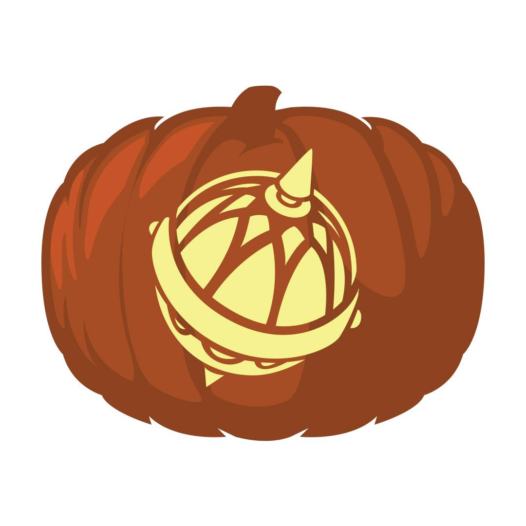 Liahona Pumpkin Carving Template - Printable  - LDPD-PBL-PUMP-LIAHONA