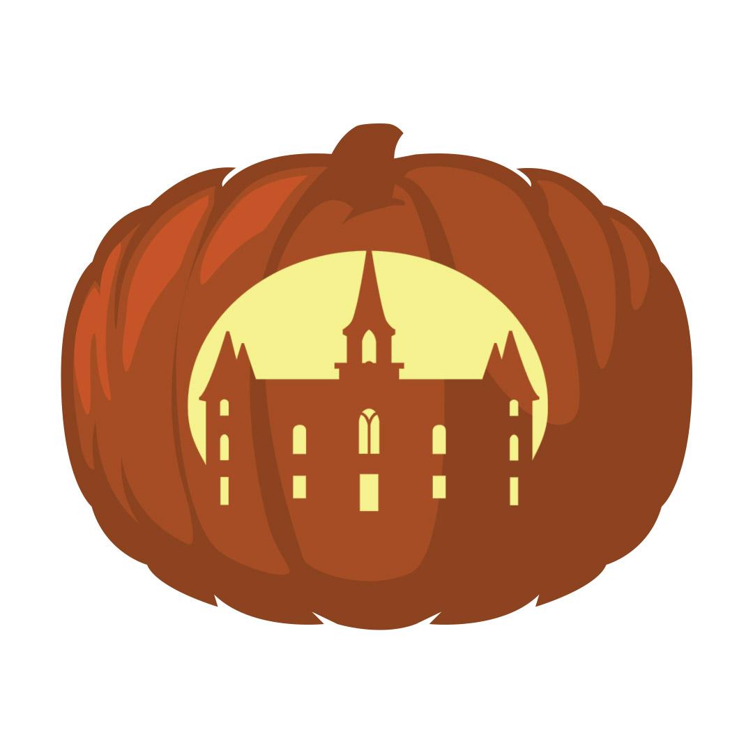 Provo City Center Temple Pumpkin Carving Template - Printable  - LDPD-PBL-PUMP-PROVOCC