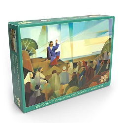 Sermon on the Mount Puzzle lds puzzle, sermon on the mount puzzle