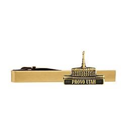 Provo Utah Temple Tie Bar - Gold
