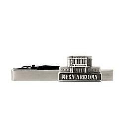 Mesa Arizona Temple Tie Bar - Silver