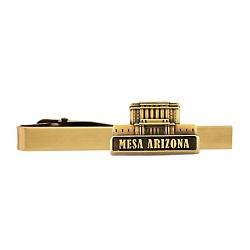 Mesa Arizona Temple Tie Bar - Gold