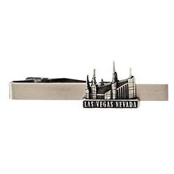 Las Vegas Nevada Temple Tie Bar - Silver