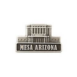 Mesa Arizona Temple Pin - Silver