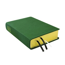 Large Hand-Bound Leather Bible - Emerald Green green lds scriptures, custom lds scriptures, green lds scripture, green Bible combination,color Bible combination scriptures,green Bible combination scriptures