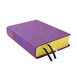 Large Hand-Bound Leather Bible - Lilac purple lds scriptures, custom lds scriptures, purple lds scripture, purple Bible combination,color Bible combination scriptures,purple Bible combination scriptures