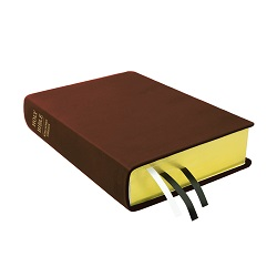 Large Hand-Bound Leather Bible - Rustic Brown brown lds scriptures, custom lds scriptures, brown lds scripture, brown Bible combination, brown lds scriptures,color Bible combination scriptures,brown Bible combination scriptures