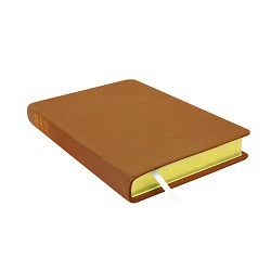Large Hand-Bound Leather Triple - Carmel Brown brown lds scriptures, custom lds scriptures, brown lds scripture, brown triple combination,color triple combination scriptures,brown triple combination scriptures