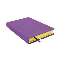 Large Hand-Bound Leather Triple - Lilac purple lds scriptures, custom lds scriptures, purple lds scripture, purple triple combination,color triple combination scriptures,purple triple combination scriptures