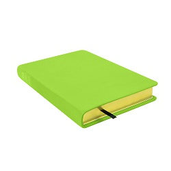 Large Hand-Bound Leather Triple - Lime Green green lds scriptures, custom lds scriptures, green lds scripture, green triple combination,color triple combination scriptures,green triple combination scriptures