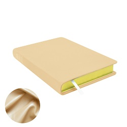 Large Hand-Bound Leather Triple - Pearlized Tan - LDP-HB-LT-PZT