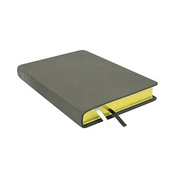 Large Hand-Bound Leather Triple - Steel Gray gray lds scriptures, custom lds scriptures, gray lds scripture, gray triple combination, gray lds scriptures,color triple combination scriptures,gray triple combination scriptures
