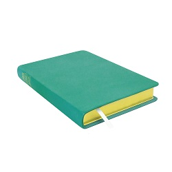 Large Hand-Bound Leather Triple - Teal Teal lds scriptures, custom lds scriptures, teal lds scripture, teal triple combination, color triple combination scriptures, teal triple combination scriptures