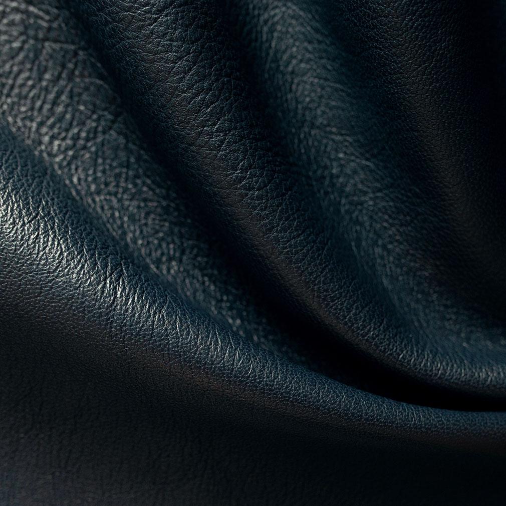 Hand-Bound Leather Quad - Navy Blue - LDP-HB-RQ-NBL
