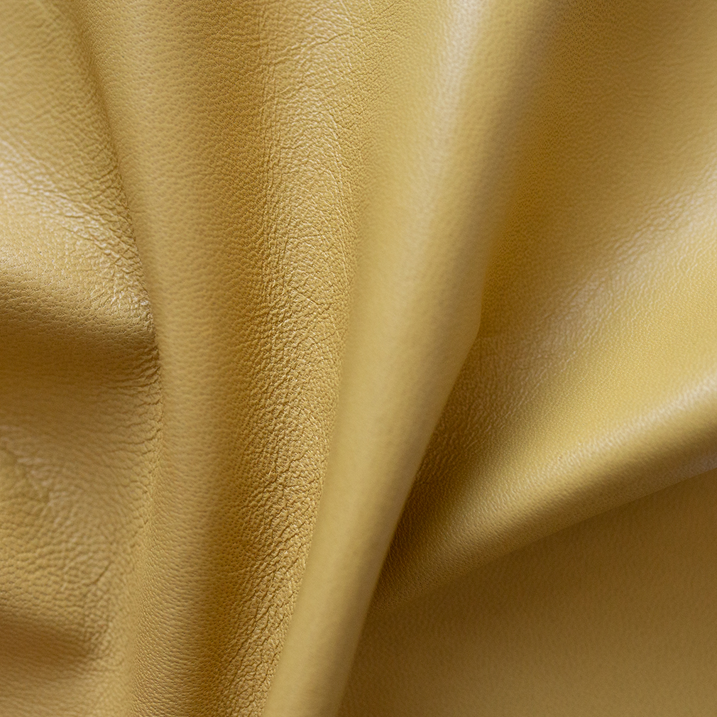 Hand-Bound Leather Quad - Buttercup Yellow - LDP-HB-RQ-BCY