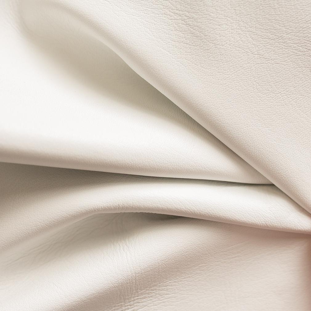 Large Hand-Bound Leather Quad - White - LDP-HB-LQ-WHT