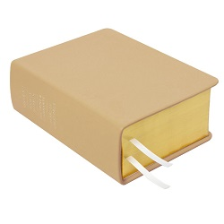 Hand-Bound Leather Quad - Beige - LDP-HBLQ-BEIGE