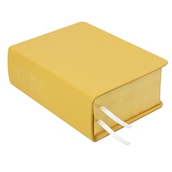Hand-Bound Leather Quad - Buttercup Yellow - LDP-HBLQ-BUTTERCUP