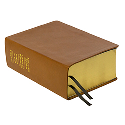 Hand-Bound Leather Quad - Caramel Brown brown lds scriptures, custom lds scriptures, brown lds scripture, brown quad,color quad scriptures,brown quad scriptures