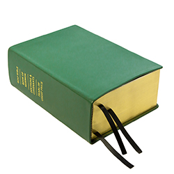 Hand-Bound Leather Quad - Emerald Green green lds scriptures, custom lds scriptures, green lds scripture, green quad,color quad scriptures,green quad scriptures