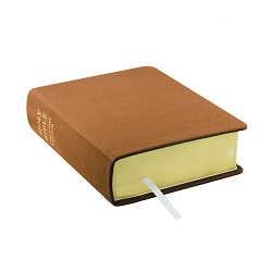 Hand-Bound Leather Bible - Carmel Brown brown lds scriptures, custom lds scriptures, brown lds scripture, brown Bible combination,color Bible combination scriptures,brown Bible combination scriptures