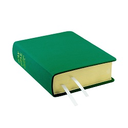 Hand-Bound Leather Bible - Kelly Green green lds scriptures, custom lds scriptures, green lds scripture, green Bible combination,color Bible combination scriptures,green Bible combination scriptures